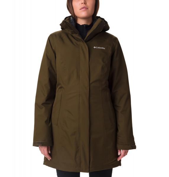 Salcantay Long Hooded Interchange Jacket women Damen Doppeljacke