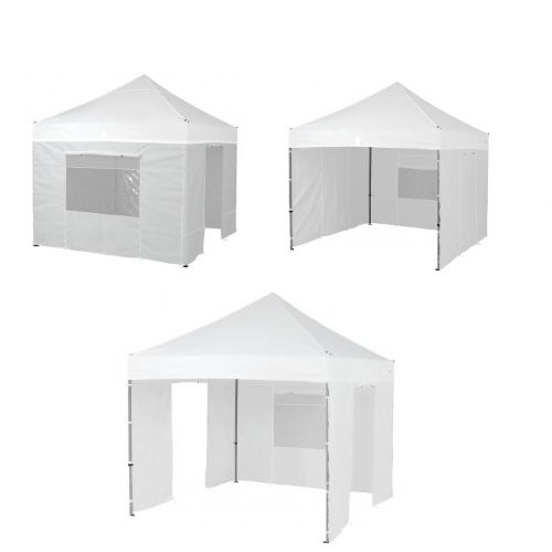Seitenwandset Pro Pavillon 3 x 3 m