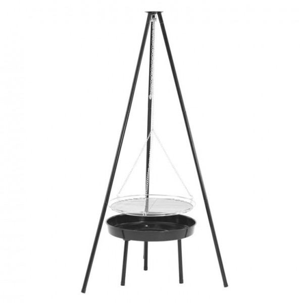 Camp Fire Tripod Deluxe Grill