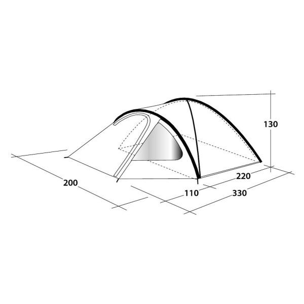 Cloud 3 Campingzelt