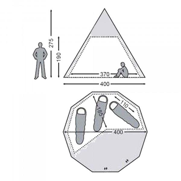 Alfheim 12.6 Basic Cabin Innenkabine