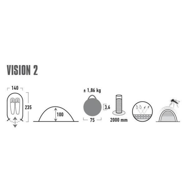Vision 2 Pop-Up-Zelt