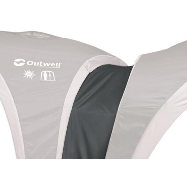 Gutter for utility tents L Dachrinnenverbindungsstück
