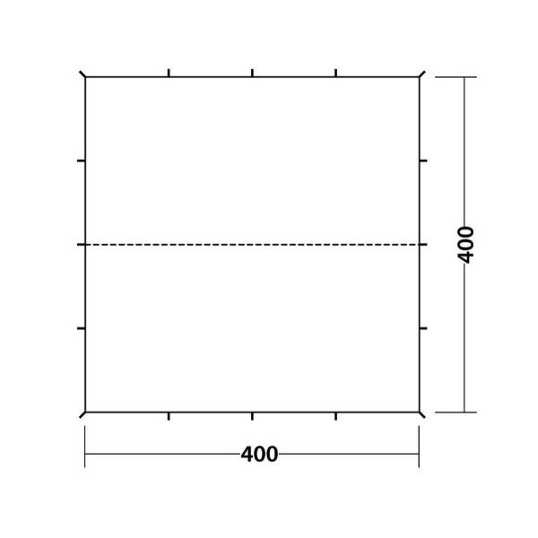 Tarp 4 x 4 m