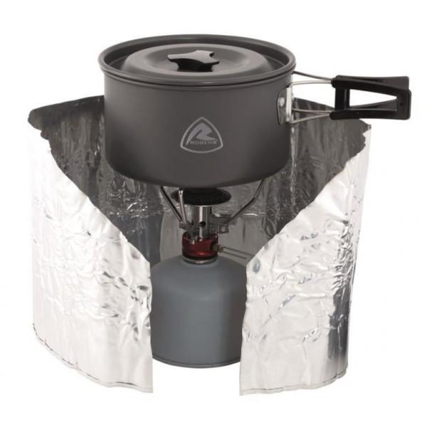 Folien Windschutz Camping-Kocher