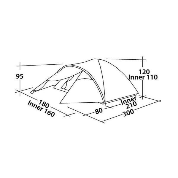 Quasar 300 Campingzelt