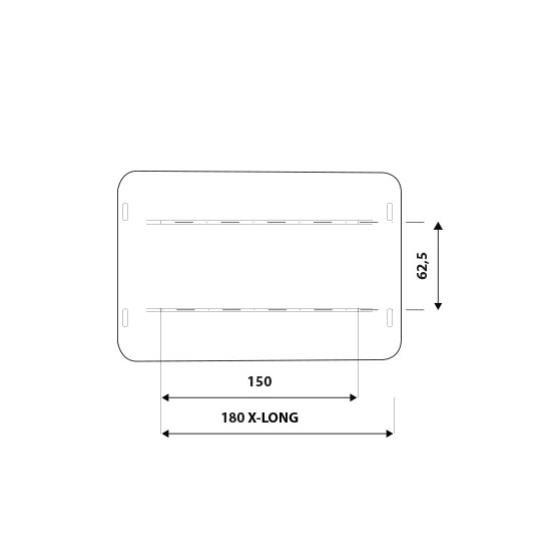 Dachzelt AirPass Variant Small X-Long