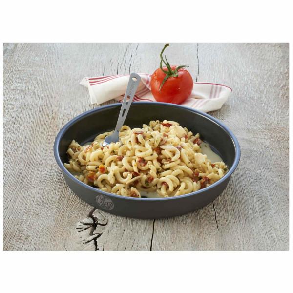 Lachspesto mit Pasta Trekkingnahrung