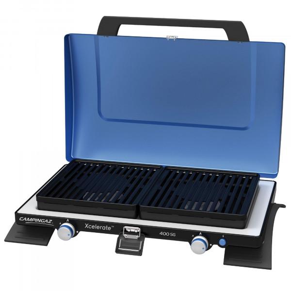 400 SG (Kocher mit Grillplatte, mit Xcelerate™ Brenner) Kocher