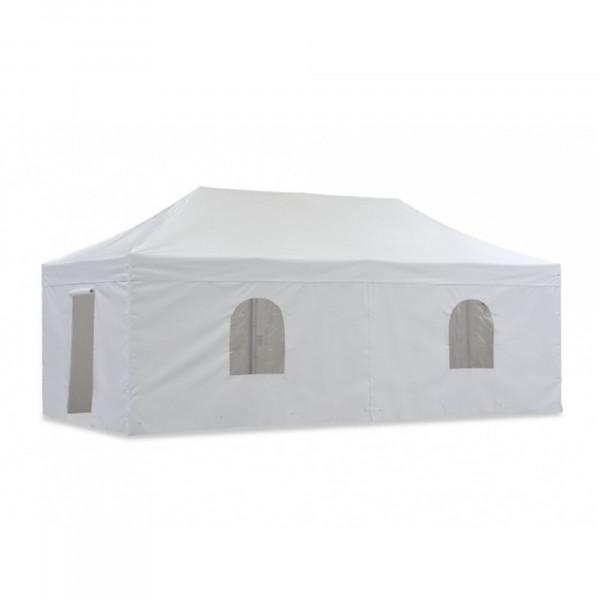 Pavillon Hexa PVC 3 x 6 m Seitenwände
