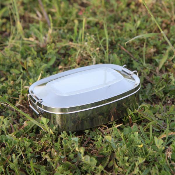 Edelstahl Proviantdose, groß