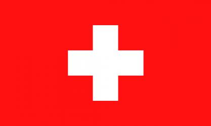 Flagge von der Schweiz