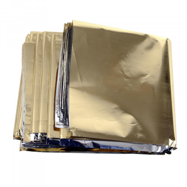 Gold/Silber Rettungsdecke