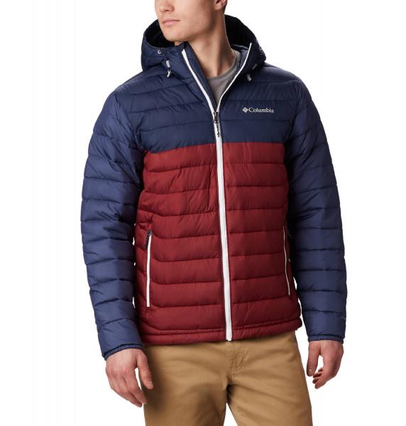Powder Lite Hooded Jacket Herren Outdoorjacke