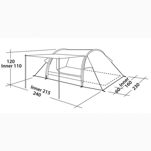 Cyrus 300 Campingzelt