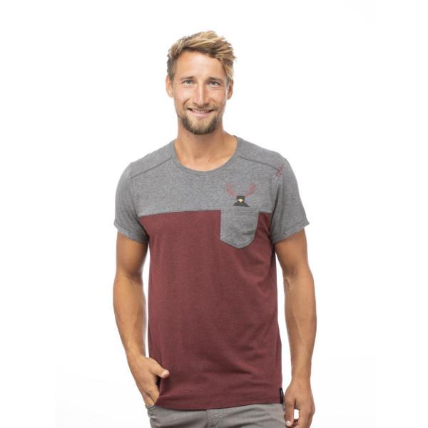 Street Hirschkrah T-Shirt Herren