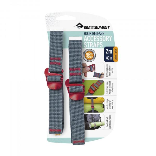 Tie Down Accessory Straps 2m 20mm Mehrzweckspanngurte