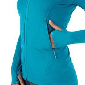 W Pravitale MTN Light NH Jacket Damen Fleecejacke