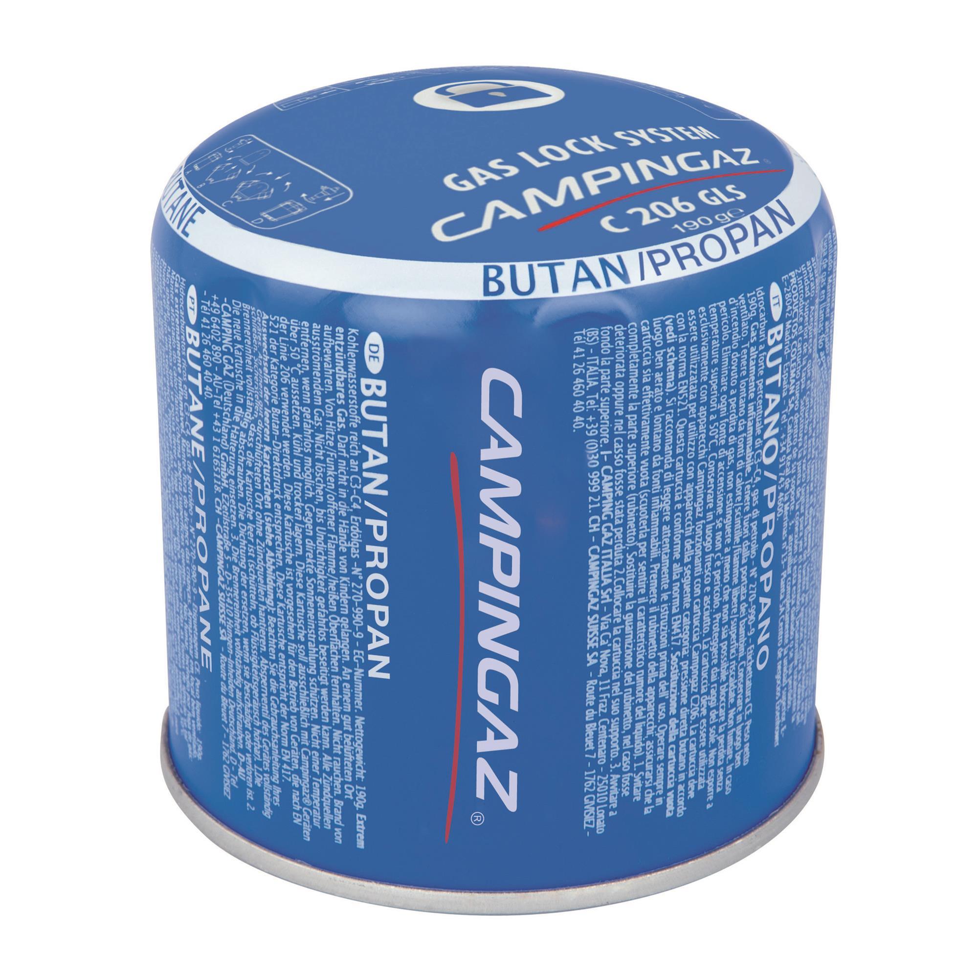 Campingaz C 206 GLS Super Stechkartusche