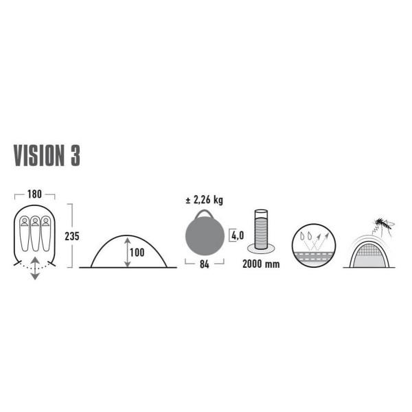 Vision 3 Pop-Up-Zelt