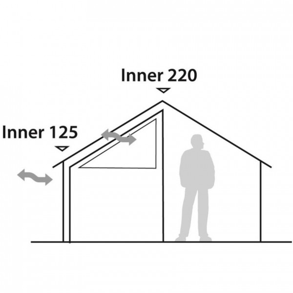 Inner tent Prospector S Innenzelt