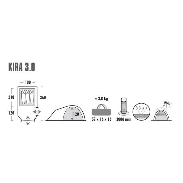 Kira 3.0 Campingzelt