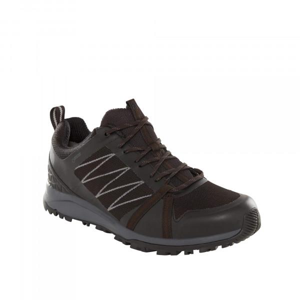 The North Face LITEWAVE FASTPACK II GTX - Hikingschuh black/ebony