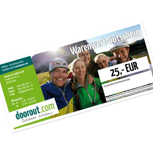 Warenwertgutschein 25 EUR
