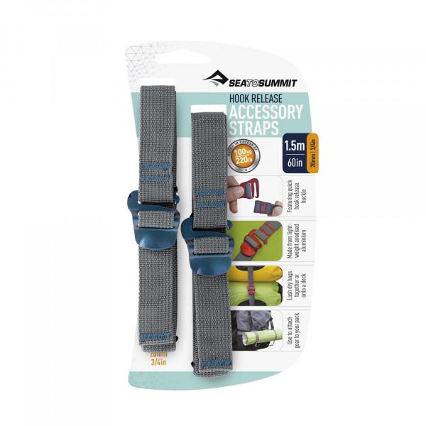 Tie Down Accessory Straps 1,5m 20mm Mehrzweckspanngurte