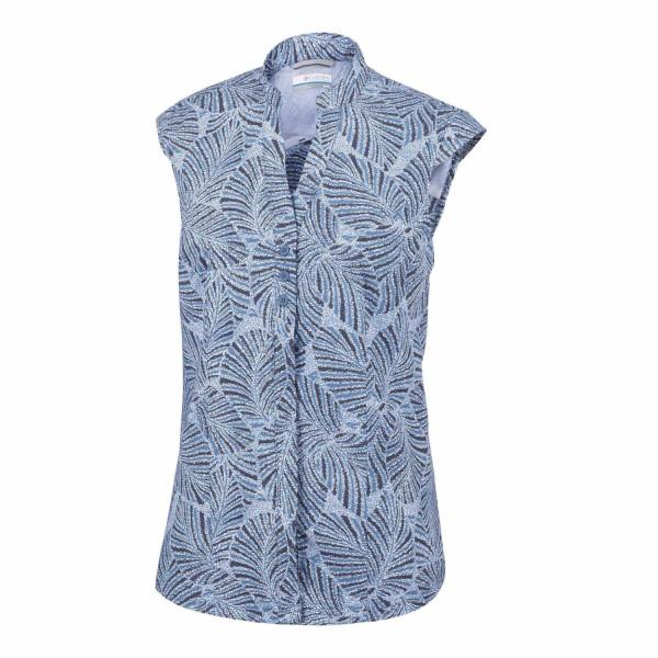 Saturday Trail Cap Sleeve Shirt Damen Bluse