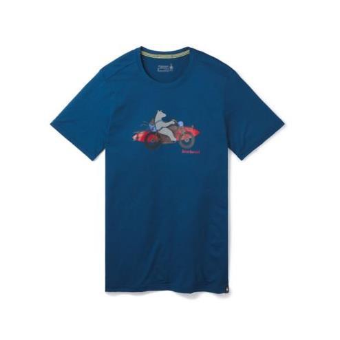 Merino Sport 150 Motor Bear Tee Herren T-Shirt