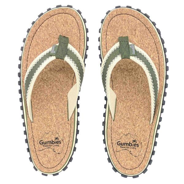 GUMBIES CORKER - Australian Shoes Herren Zehensandalen