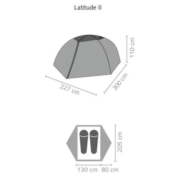 Latitude II Trekkingzelt