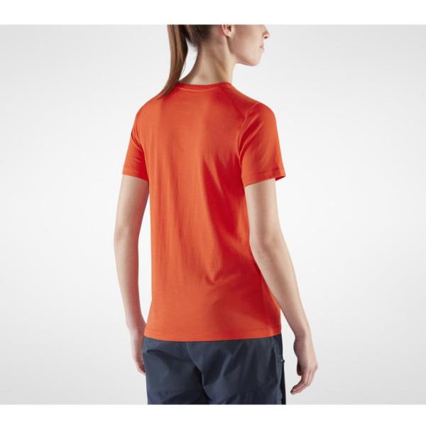 Abisko Wool Tältplats SS Damen T-Shirt